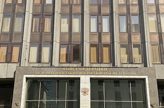 Проект о просветительской деятельности поддержали в международном комитете Совфеда