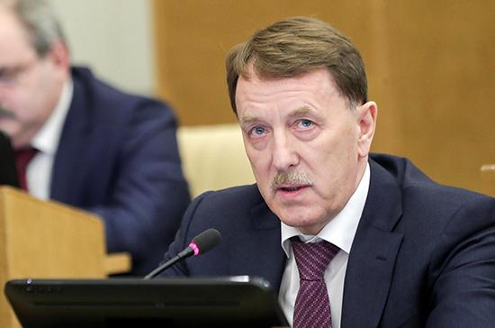 Гордеев предложил создать министерство лесного хозяйства