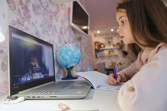В Госдуму внесен проект о направлении маткапитала на покупку техники для учебы онлайн