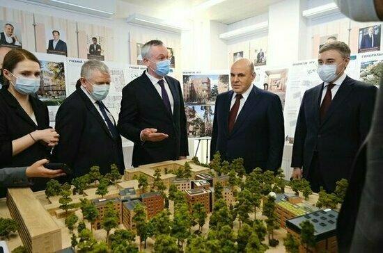 Губернатор оценил поручения премьера по итогам поездки в Новосибирскую область