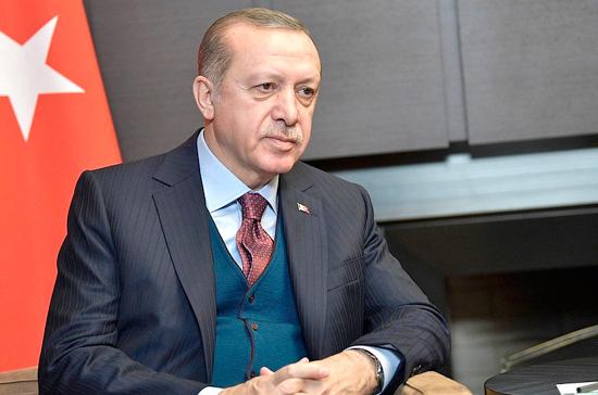Эрдоган назвал недопустимым высказывание Байдена о Путине