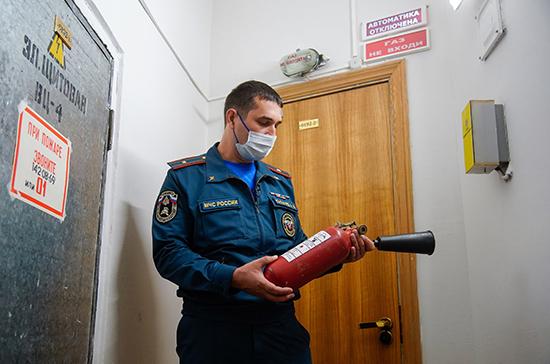 Торговые центры «заморозят» за сломанную пожарную сигнализацию