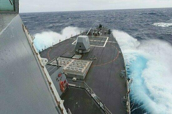 В Чёрное море направился ещё один корабль ВМС США