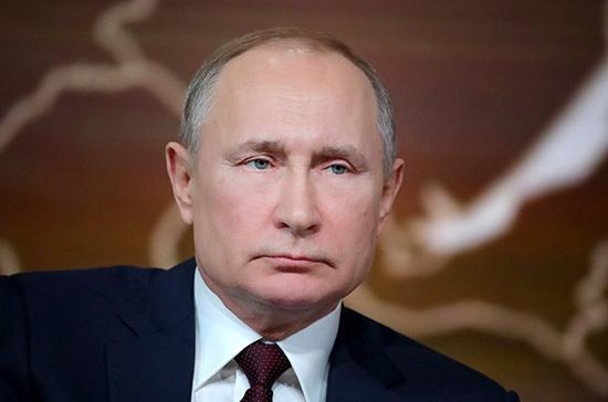 Владимир Путин поздравил жителей Чечни с Днём конституции республики