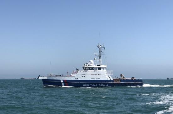 Крымские пограничники получили новые сторожевые корабли
