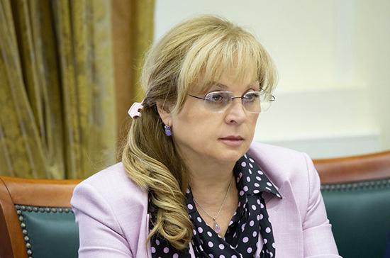 Памфилова оценила возможность онлайн-голосования по всей стране