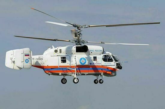 Вертолет МЧС упал в акваторию Куршского залива