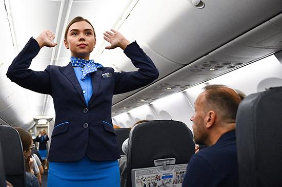Авиакомпании просят Госдуму дать право экипажу на применение «спецсредств» в отношении авиадебоширов