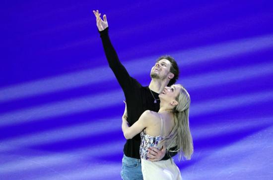Россияне Кацалапов и Синицина выиграли золото ЧМ в танцах на льду