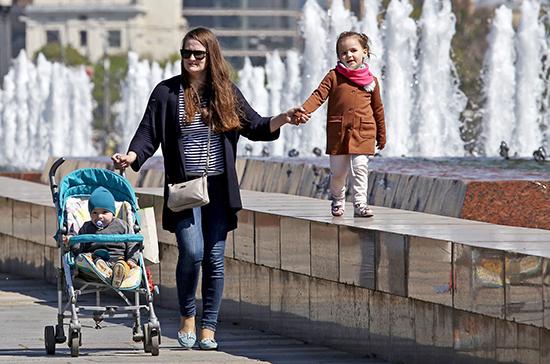 С 1 апреля перерасчёт выплат на детей от 3 до 7 лет можно будет оформить через Госуслуги