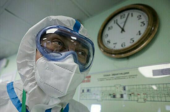 В России за сутки зарегистрировали 8792 случая COVID-19