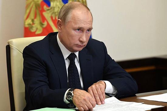 Путин отметил духовную общность народов России и Белоруссии