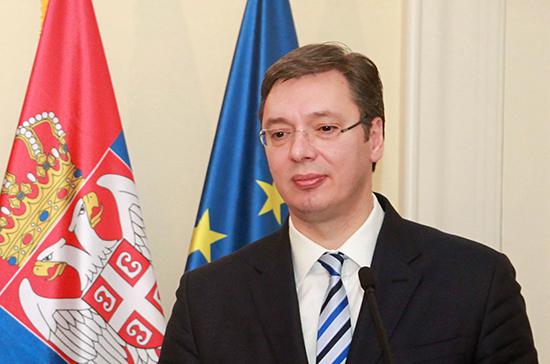 Президент Сербии привился от коронавируса
