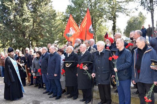 В Севастополе почтили память погибших подводников
