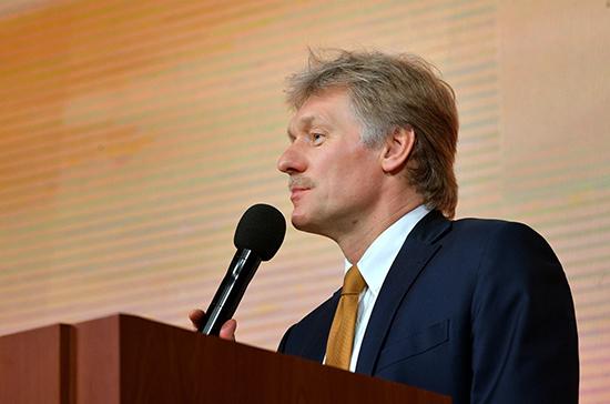 Песков: президент не сделал вторую прививку от коронавируса