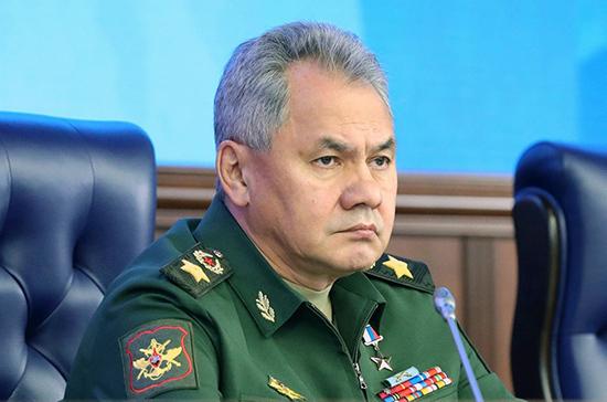 Шойгу сообщает о стягивании войск США и НАТО к российским границам