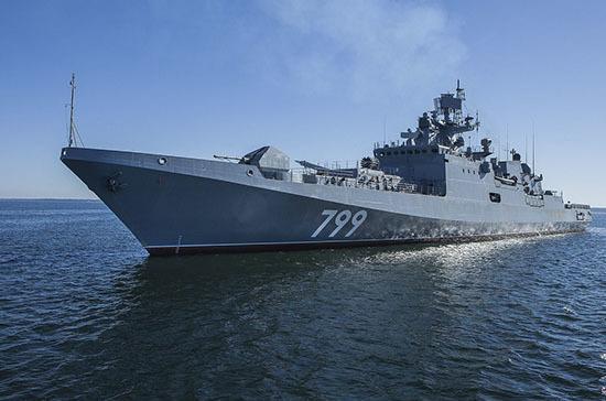 Корабли Черноморского флота вышли в море для проведения учений