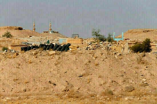 ВКС России уничтожили замаскированную базу террористов в Сирии