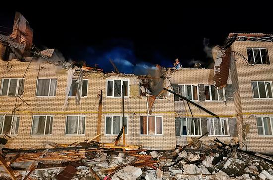 СК возбудил уголовное дело после взрыва газа в жилом доме в Нижегородской области