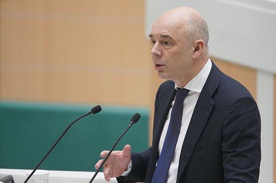 Силуанов: меры соцподдержки, анонсированные Путиным, потребуют 400 млрд рублей за два года