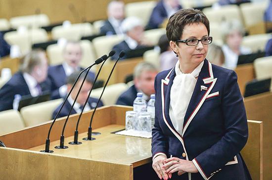 Савастьянова: предложения президента позволят улучшить жизнь в самых отдалённых городах и посёлках