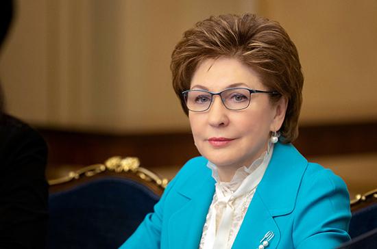 Карелова: в центре внимания президента —  развитие социальной сферы