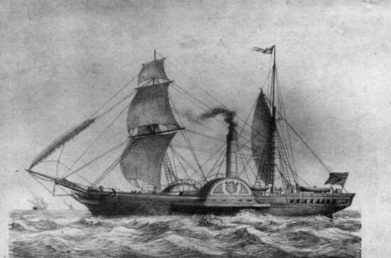 Сколько длился первый трансатлантический круиз