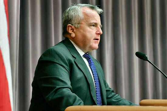 Посол США Салливан покинул резиденцию в Москве