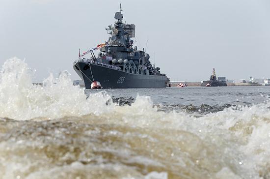 Корабли ВМФ России вышли в море в районе Крыма для проведения учений