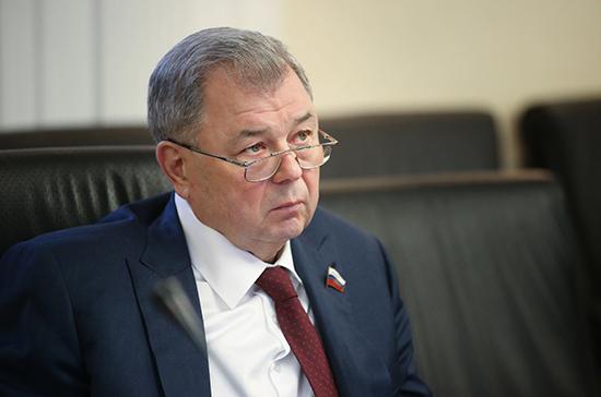 Артамонов: сенаторы начали работу над концепцией нового федерального бюджета