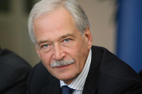Грызлов: проект предвыборной программы «Единой России» должен быть готов к июню