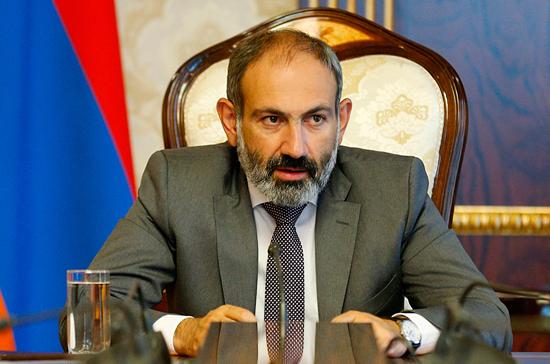 Пашинян уходит в техническую отставку для проведения досрочных выборов