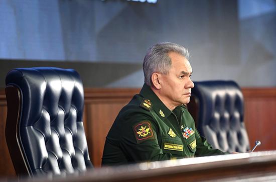 Шойгу объявил о создании объединённой системы ПВО с Таджикистаном