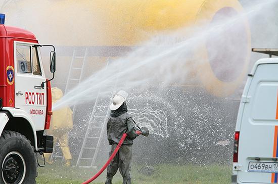 Полномочия по тушению пожаров в населённых пунктах хотят разграничить