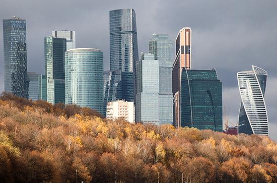 В Москве прогнозируют ветреную погоду и снег на неделе