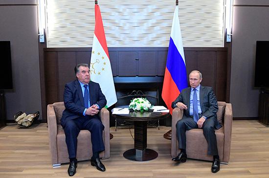 Путин и Рахмон обсудят ситуацию на границе Таджикистана и Киргизии