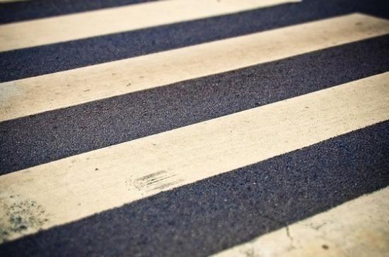 В Москве изменят разметку диагональных пешеходных переходов