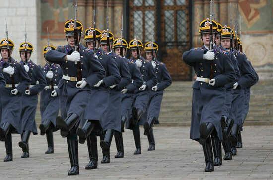 Президентский полк отмечает свой профессиональный праздник