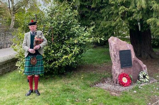 В Шотландии почтили память советских лётчиков