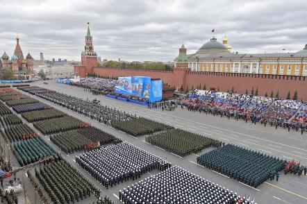 Парад в честь 76-летия Победы