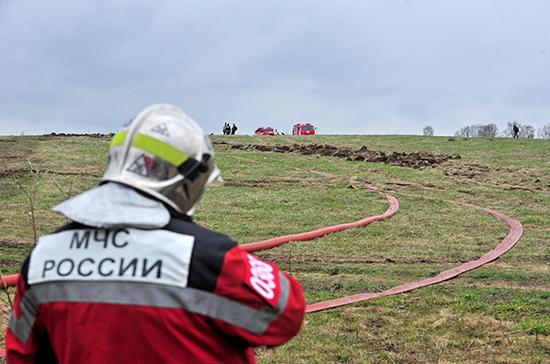 Два человека погибли при жесткой посадке легкого самолета в Татарстане