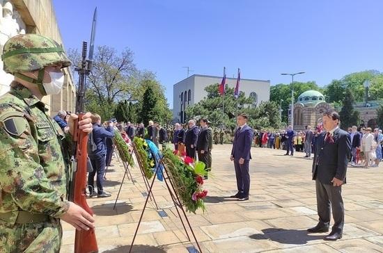 В Белграде возложили венки к мемориалу Воинов-освободителей