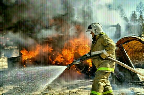 Тюменские военные локализовали очаги природных пожаров на территории в 50 километров