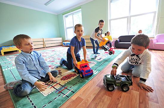 Детей педагогов хотят наделить преимуществом при зачислении в детские сады
