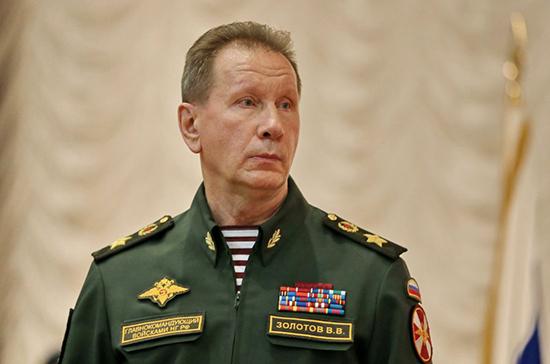 Золотов предложил ввести возрастной ценз в 21 год для выдачи оружия