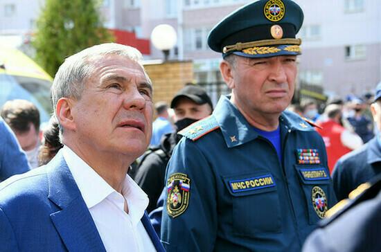Власти Татарстана разработают дополнительные меры поддержки пострадавших при стрельбе в Казани