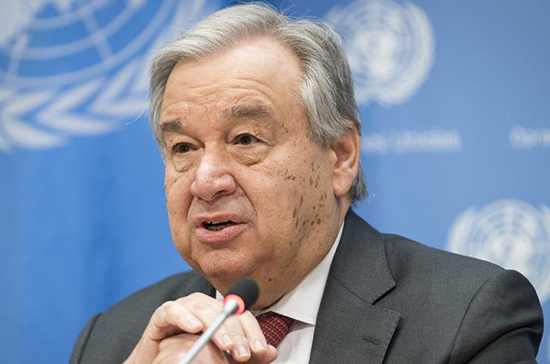 Генсек ООН сообщил, что следит за инициативами Валентины Матвиенко