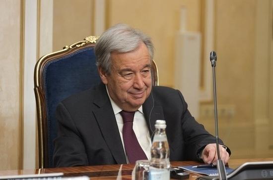 Генсек ООН полностью поддерживает проведение Всемирной конференции по межэтническому диалогу в России