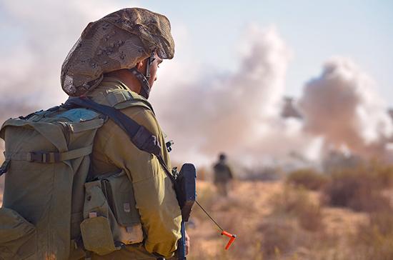 Израиль нанес удар по объекту военной разведки ХАМАС