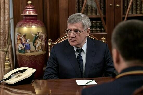 Путин наградил Чайку орденом «За заслуги перед Отечеством» I степени